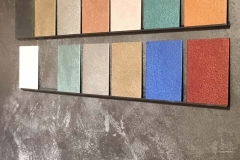 Metalleffekte-Wand