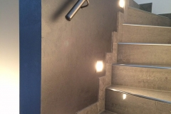 Wandgestaltung-Blau-Gold