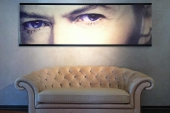 Bowie-auf-Wand