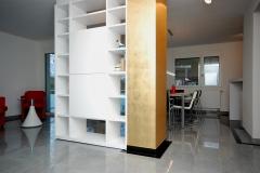 Wohnraum-Akzent-Gold